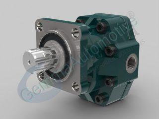Гідронасос шестерний двонаправлений ISO 17 см3 (4 болта)