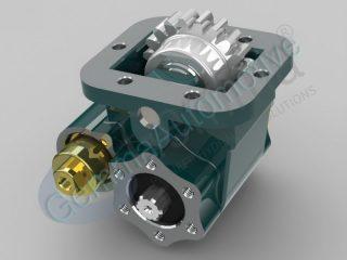 Коробка відбору потужності EATON-HEMA 475 Кріплення зліва