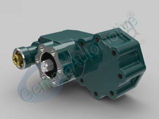 Коробка відбору потужності EATON-HEMA 570 Заднє кріплення