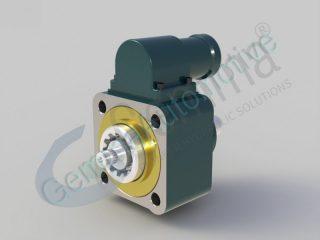 Коробка відбору потужності ZF з однією шестернею та виходом вала