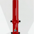 Гідроциліндр телескопічний (Gемма) FET/6225/1215/5 з кріпленнями