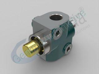 """Гідравлічний обмежувальний клапан  1 """"(замкнутий контур)"""