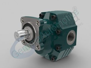 40 Series gear pump 151 cc ISO 4-bolt (cw/ccw)