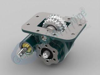 Коробка відбору потужності ISUZU MBP 6P